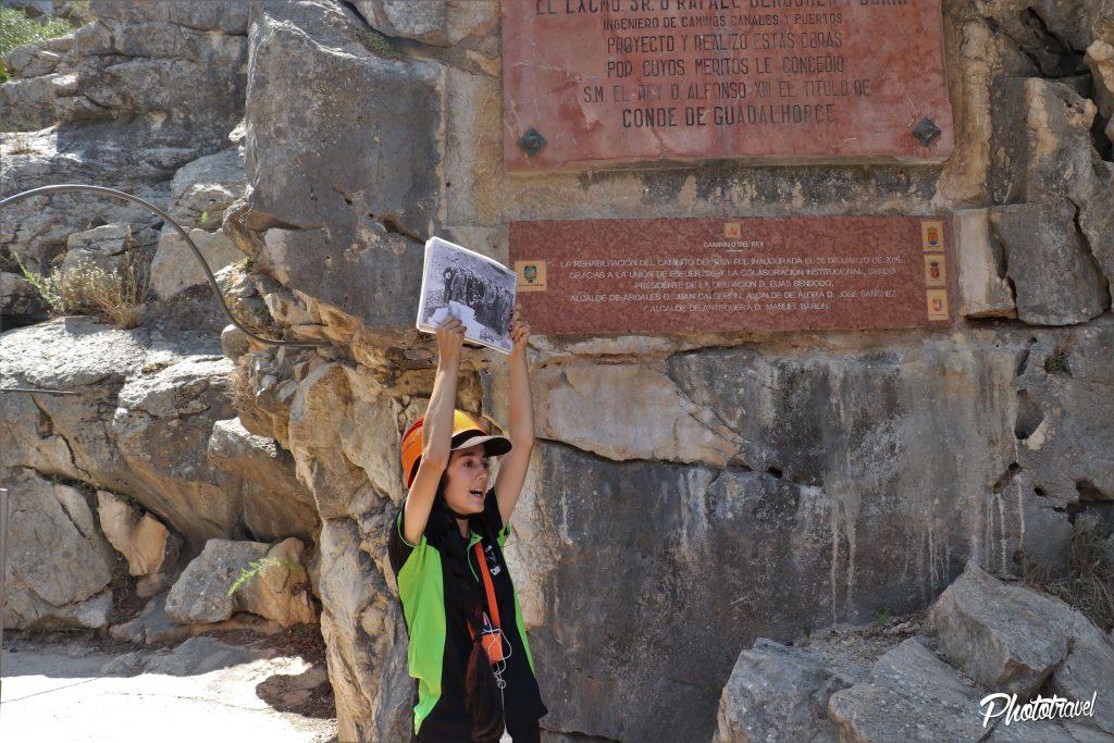 guia caminito del rey. guia de turismo