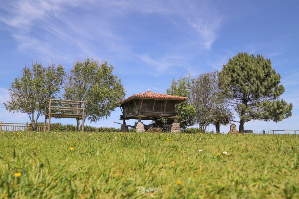 Ermita La Regalina, en el occidente asturiano.