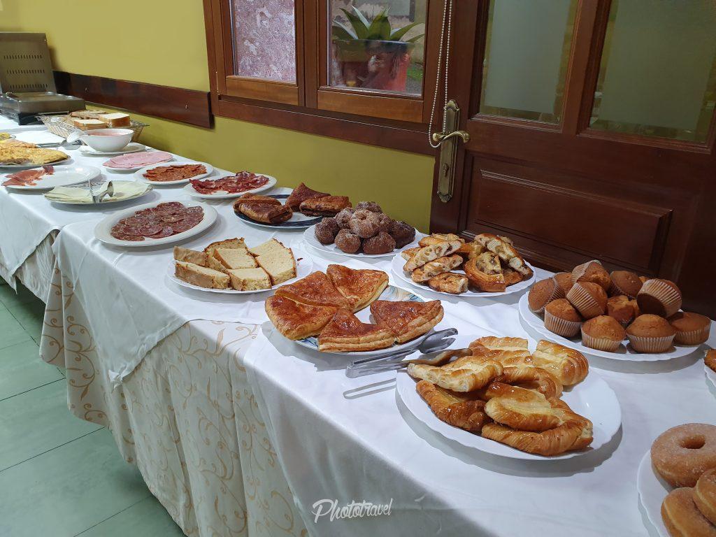 Gran Hotel Cela Desayuno Belmonte de miranda