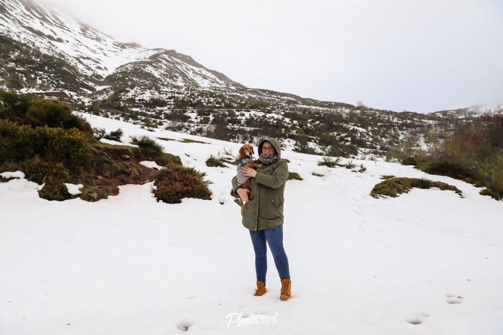 Nieve en Somiedo, Asturias