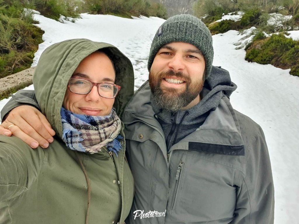 Nieve en Asturias. Parque Natural Somiedo