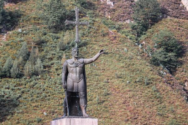 Estatua Rey Pelayo Covadonga Asturias