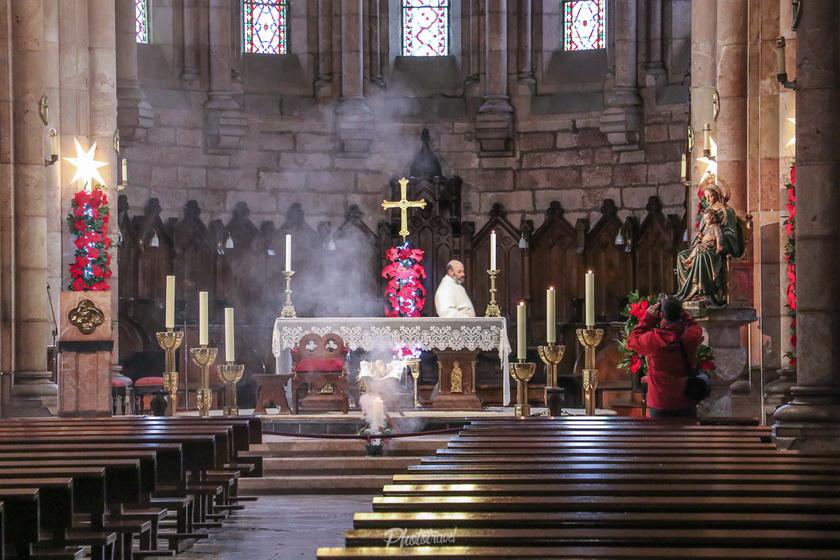 interior basílica de covadonga
