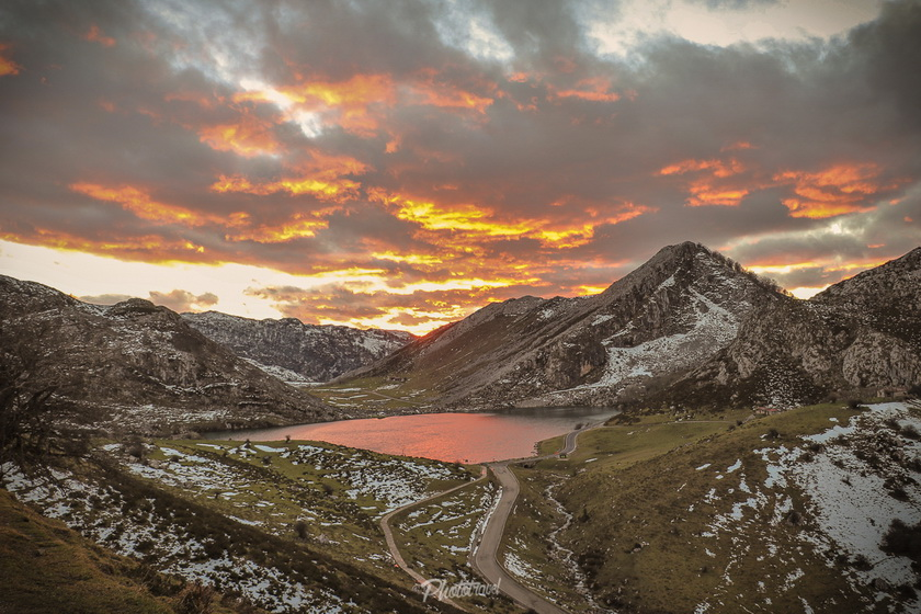 Lagos de Covadonga - Atardecer