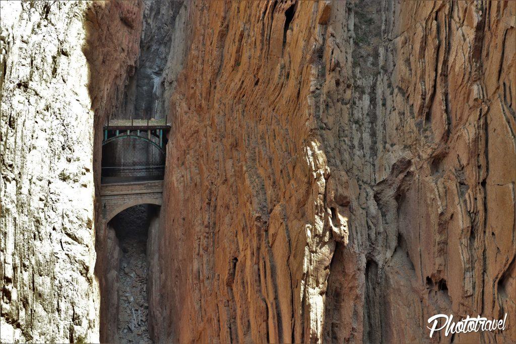 Puente Desfiladero de los Gaitanes Caminito del rey